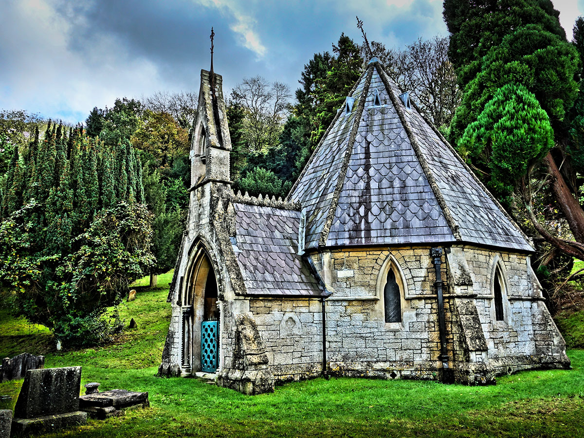 Smallcombe Church bath