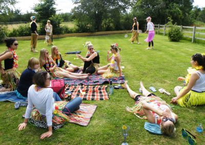 A summer garden hen party!