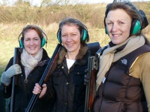 Clay pigeon shooting nearby