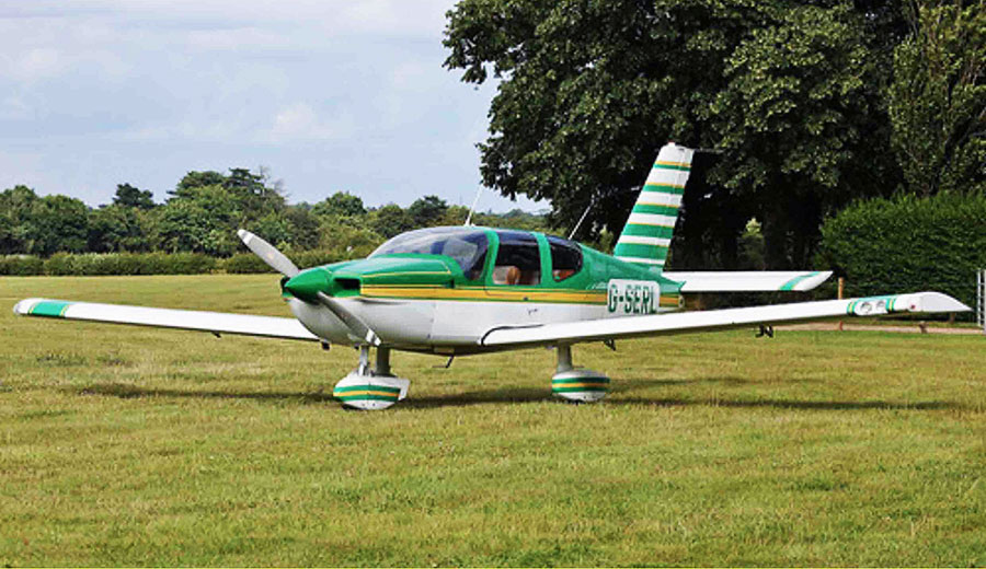 Light aircraft flights